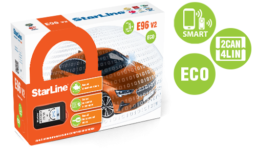 StarLine E96 v2 BT ECO 2CAN+4LIN