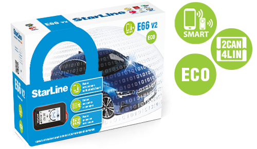 StarLine E66 v2  BT ECO 2CAN+4LIN #0