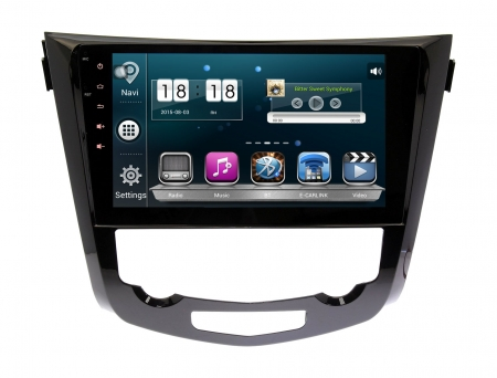 Штатная магнитола Nissan Qashqai, X-Trail 2014 + Wide Media WM-1008HD Android авто без Navi и 360