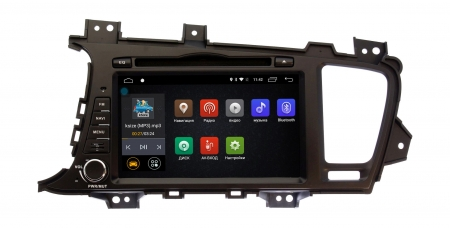 Штатная магнитола KIA Optima, K5 2010 - 2013 Ksize DVA-ZN7029 Android