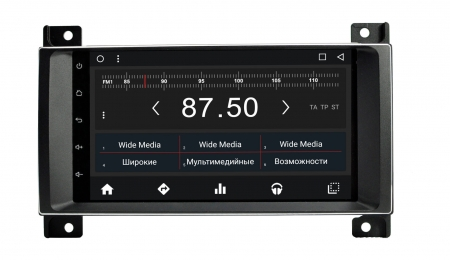 Штатная магнитола Jeep Cherokee 2007 - 2014 Wide Media WM-PH8728 Android