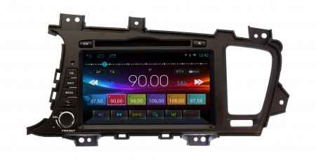 Штатная магнитола KIA Optima, K5 2010 - 2013 Ksize DVA-ZN7029L Android