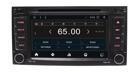 Штатная магнитола VW Touareg 2003 - 2011, Multivan 2003 - 2014 Wide Media WM-VS7A808NB-2/16 #2